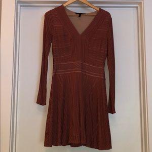 Mauve BCBG Classic A-line Dress
